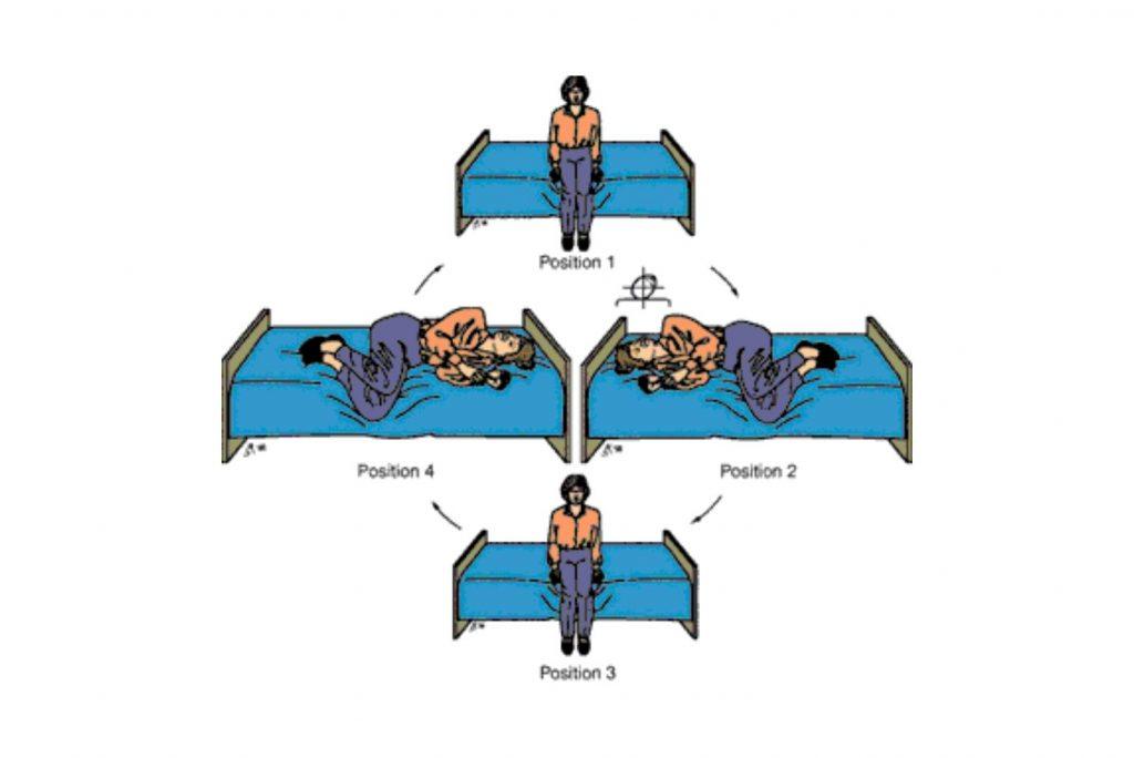 Brandt-Daroff exercise for Vertigo